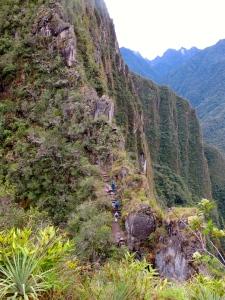 start of climb up Waynapicchu