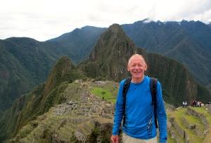 Looking toward Machu Picchu site