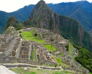 Machu Picchu with Waynapicchu in background