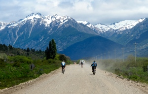 on gravel south of Bariloche